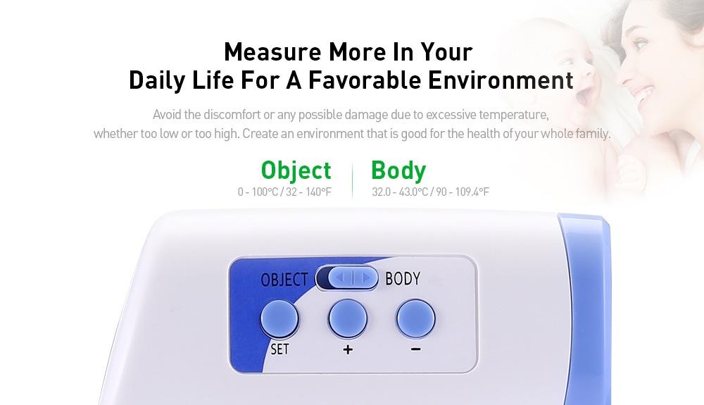 Berührungslose Handthermometer-Pistolenoptionen