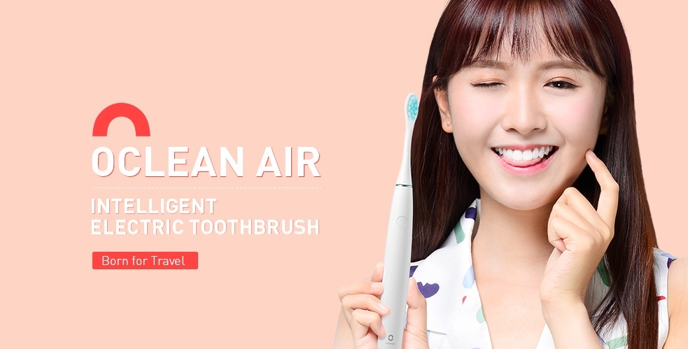 oclean air electric toothbrush