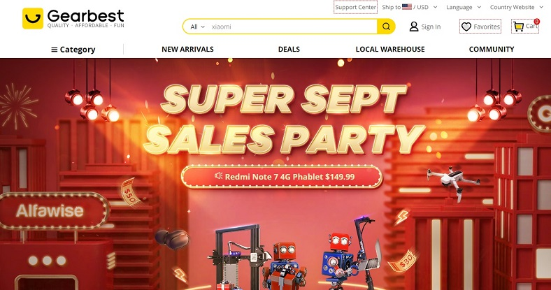 Gearbest Mid-Year Sales Promo