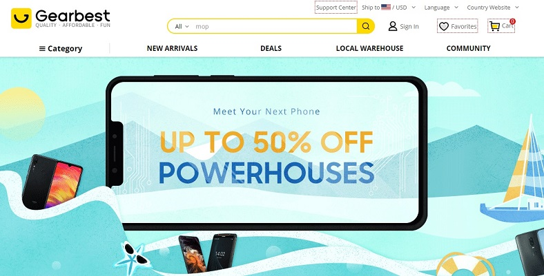 gearbest powerhouse phones