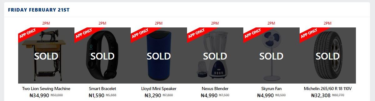 jumia flash sale deals